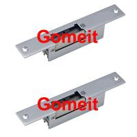 Narrow Type 12 Volt Electric Door Strike For Metal Doors Long Life Aluminum Alloy Manufactures