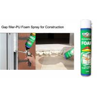 China Multi - Purpose B2 Fireproof Foam Filler Spray , Off White High Density Spray Foam on sale