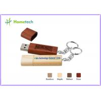 Gift Engraving Bamboo Customised Usb Flash Drives Eco Frinendly Manufactures