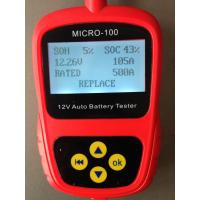 Car Battery Tester MICRO-100 Digital Battery Tester Battery Conductance & Electrical Syste Manufactures