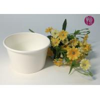 7oz 170ml Food Grade Disposable Ice Cream Cups In Plain White Manufactures