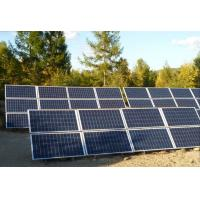 Roof Home Solar Power System For Pure Sine Wave Generator / 6kW solar system