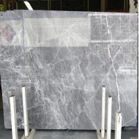 DORA Grey Cloud Gray Gris / Blue Natural Marble Tile And Slab For Flooring Layout Book Matched Manufactures