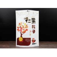 Pine Nuts Custom Food Packaging Bags With Aluminum Foil Zipper Sealed Manufactures