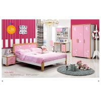 Buy cheap latest wooden bed designs New design kids bedroom furniture 6602 from wholesalers