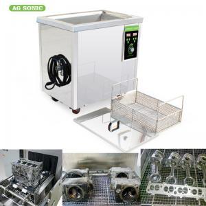 Digital Timer Heater Adjustable Industrial Ultrasonic Cleaning Tanks 38l Metal Manufactures