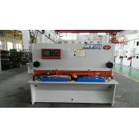 Hydraulic Drive H13 / D2 Balde NC Guillotine Shear For Thick Steel Cutting Manufactures