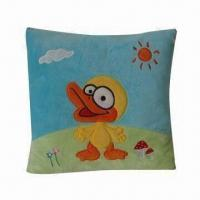 China Cushion/Soft Toy for Babies or Children, Made of Soft Plush Material on sale