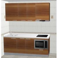 Complete Kitchen Cabinet Set Adjustable Legs For Kitchen Cooking / Storage ISO9001 Manufactures