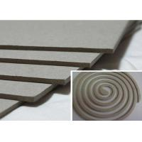 Solid 1500gsm Unbleached Grey Board Raw Material for Mosquito Coil Manufactures