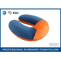 Soft Ergonomic Shapeed Memory Foam Neck Cushion Traveling Pillow Manufactures