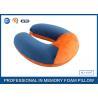 Buy cheap Soft Ergonomic Shapeed Memory Foam Neck Cushion Traveling Pillow from wholesalers