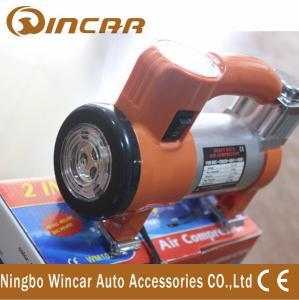 China 100 Psi 12V Portable Air Compressor pump / Super Mini Car Inflator Pump on sale