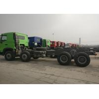 8*4 Sinotruk HOWO Heavy Dump Truck Chassis 371HP 9.726L Displacement Manufactures