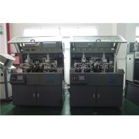 Make Up Hot Foil Automatic Stamp Machine Two Color Screen Printer Manufactures