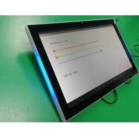 10.1 Inch Android 6.0 POE Wall/Glass Wall Mounted Tablet With NFC Reader LED Light Bar For Meeting Room Manufactures