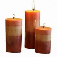 Candle Gift Set with Stones and Leaves Manufactures