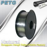1.75 / 3.0 mm PETG Filament 3D Printing Transparent Materials  1.0KG Manufactures