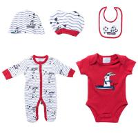 Buy cheap Red Rabbit Color Infant Baby Boy Clothing Sets Stylish Romper Sets Quick Dry from wholesalers