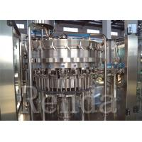China Automatic Carbonated Drink Filling Machine , Carbonated Beverage Filling Machines on sale