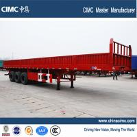 3 Axles Flat Bed Semitrailer with removable side walls Manufactures