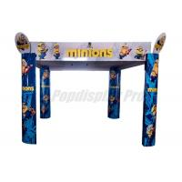 Promotional Large Arched Display Standee Eye Catching For Minions Toys Manufactures
