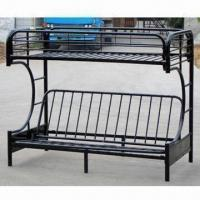 China Futon Bunk Bed with 90 x 190cm Mattress Size on sale