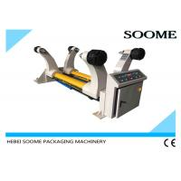 China 1800mm Corrugated Paperboard Production Line , Shaftless Reel Hydraulic Mill Roll Stand on sale