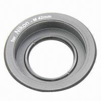 Lens Adapter Ring for M42 Lens and Nikon Mount Adapter, with Infinity Focus Glass Manufactures