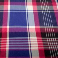 Quality Polyester Yarn-dyed Lining Fabric, Weighs 56gsm, Used for Suit and Jacket for sale