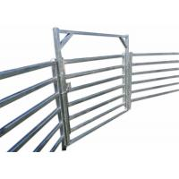 Hot Dipped Galvanized Pipe Full Welded Silver Painted  AS/NZS standard 1.8mx2.1m width Livestock Panels​ Manufactures