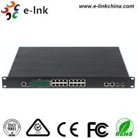 Unmanaged Industrial Ethernet POE Switch 1000Base - FX SFP / RJ45 Combo Manufactures