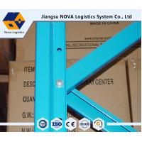 China Customized Blue / Orange / Green Heavy Duty Pallet Shelving , Depth 400-2000 Mm on sale
