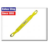 Eye & Eye Twist Type Flat Web Slings For Lifting , Pallet Lifting Slings With Tuff Tag Manufactures