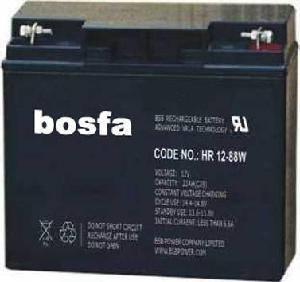 HR12-75W 12V21ah High Rate Battery 12V 21ah Manufactures