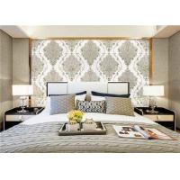 Elegant Luxury PVC Waterproof Wallpaper Damask Designs For Walls , Vinyl Material Manufactures
