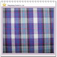100 Cotton Yarn Dyed Colorful Checks Fabric Manufactures