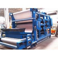 High Pressure Belt Filter Presses For Grains Dewatering , Brewery Plant Manufactures