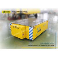 20t Mine Battery Transfer Cart / Custom Material Handling Carts Easy Remote Control Manufactures