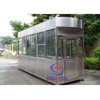 20 Year Lifetime Outdoor Ticket Booth /  Portable Guard Shacks Multi Color Available Manufactures