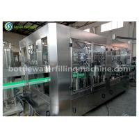Automatic Carbonated Drink Filling Machine For Beverage / Chemical / Medical Manufactures