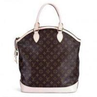 Canvas LV Monogram Handbags Lockit Vertical with Oxidizing Leather Handle M40103 Manufactures