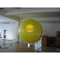 Yellow Full Digital Printed Sport Tennis Ball Balloons with 170mm Tether Points for Party Manufactures