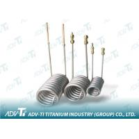 Quality Seamless Titanium Pipe ASME SB338 GR2 Titanium Tubing For Chemial And Oil Industry for sale