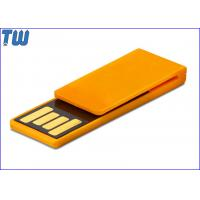 China Plastic Paper Clip Pen Drive Price 4GB Storage to Fit for Your Daily Use on sale