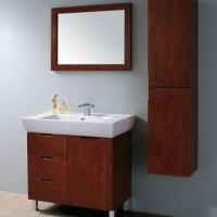 Bathroom Vanities in White Color, with Shelf and 800 x 460 x 830mm Cabinet Size Manufactures