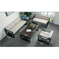 Durable Fabric Office Furniture Sofa  With Stainless Steel Legs For Rest Area Manufactures