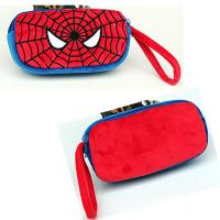 Cute Spider man Cartoon Characters Plush Pencil Case For Promotion Gifts Manufactures