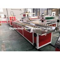 China Automatic PVC Profile Production Line Sheet Extrusion Machine Good Air Tightness on sale