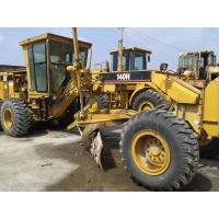 Quality CAT 140H Used Motor Grader With Ripper , Second Hand Graders for sale